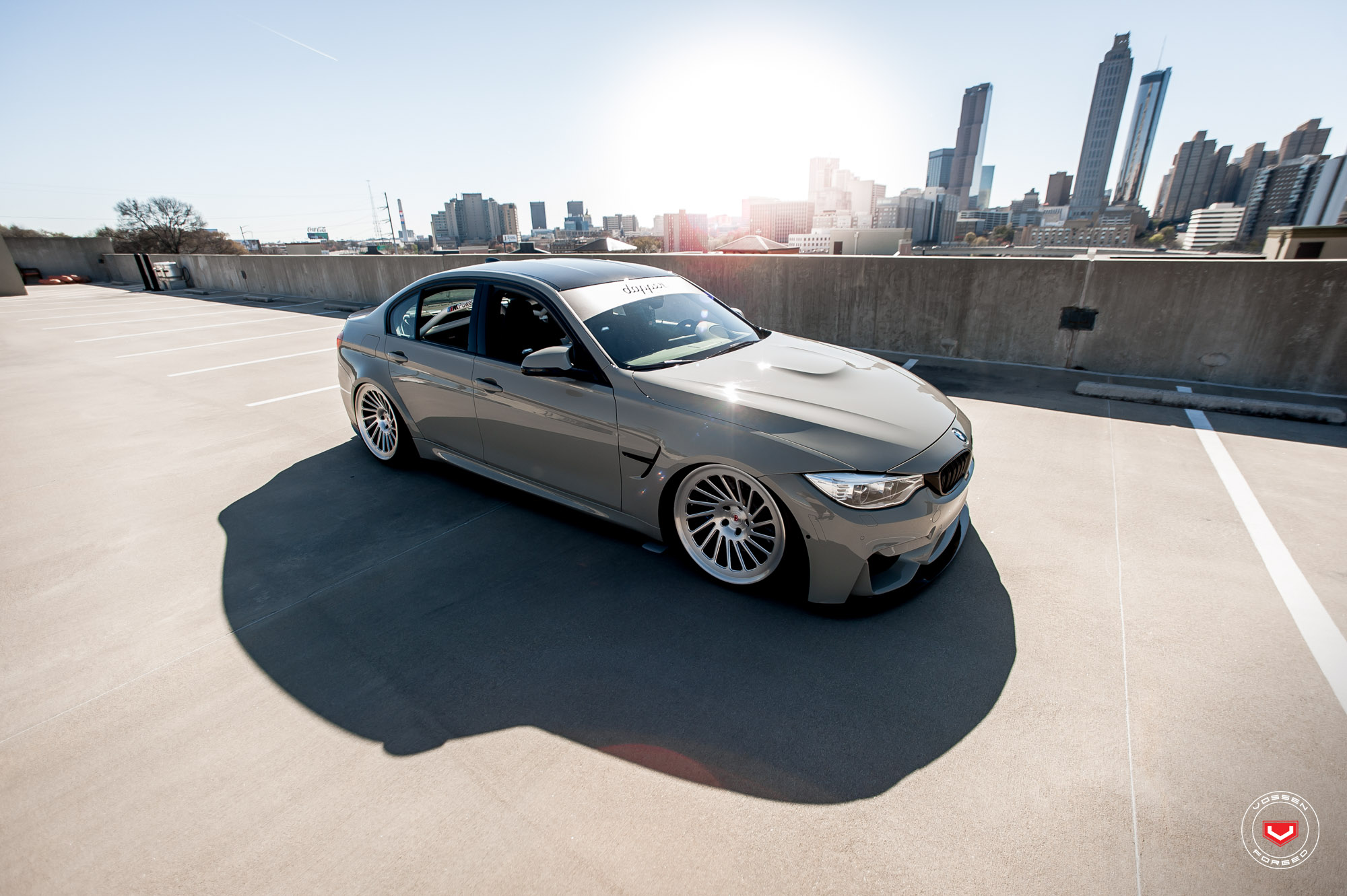 BMW M3 on Vossen Wheels (8)