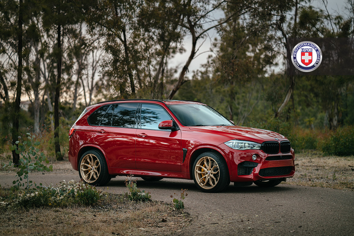 BMW X5 M on HRE Wheels (10)