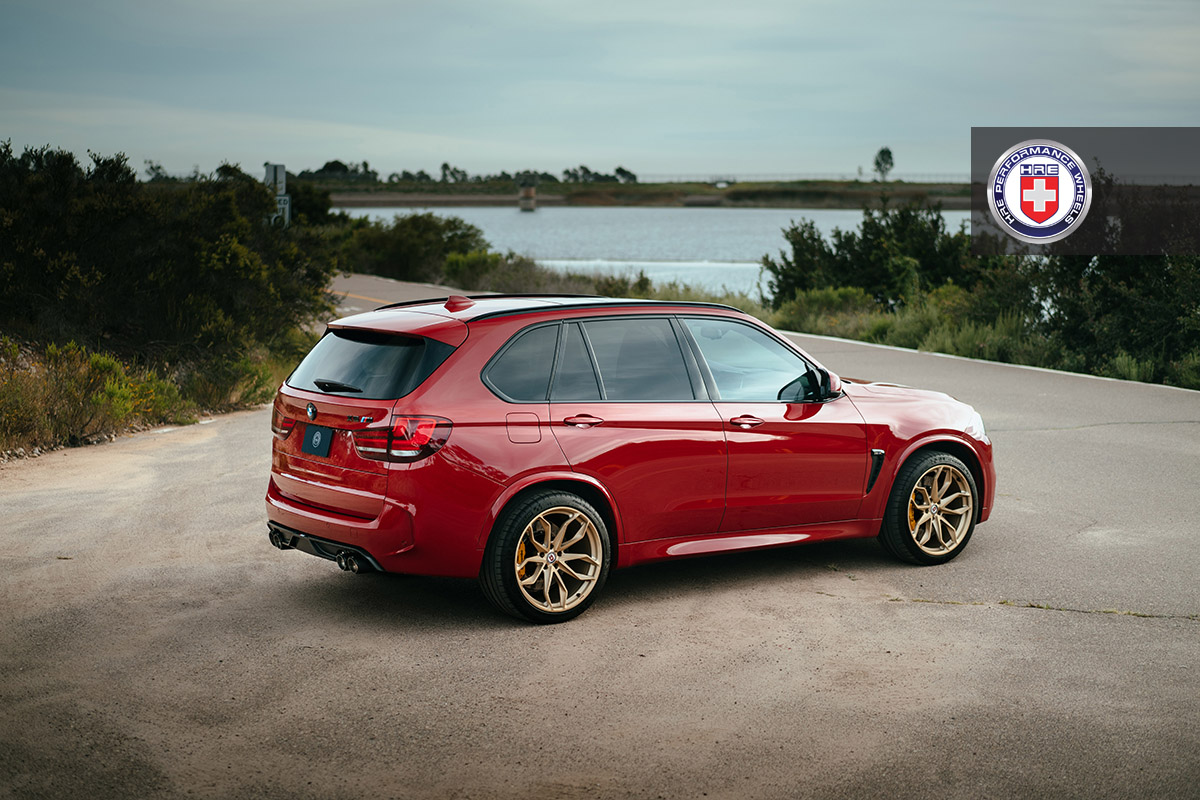 Bmw X5 M Looks Smashing On Hre Wheels Installation By