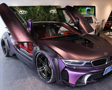 Eve.Ryn BMW i8 Dark Night