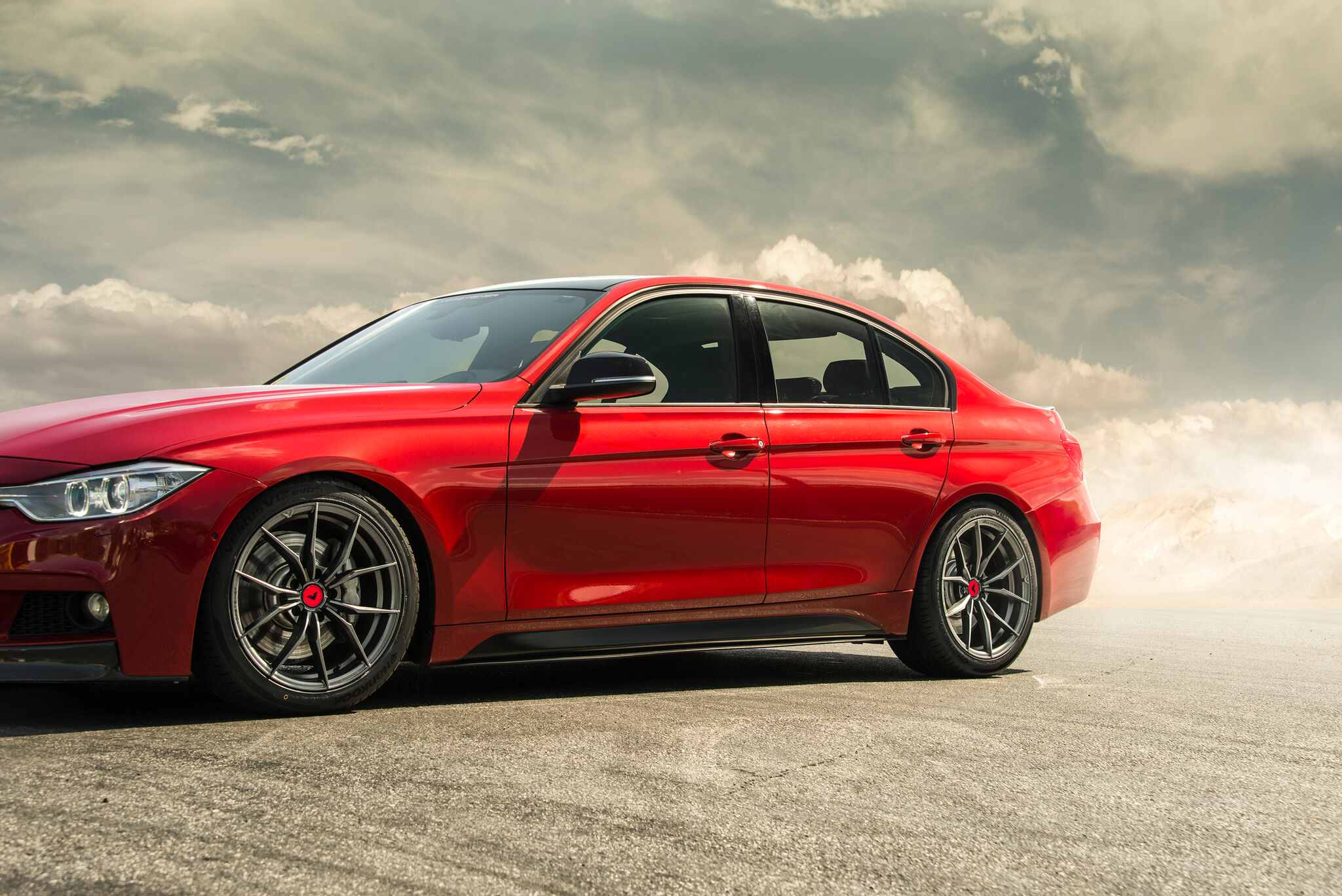 F30 Bmw 335i Looks Aggressive With The New Vorsteiner V Ff Wheels