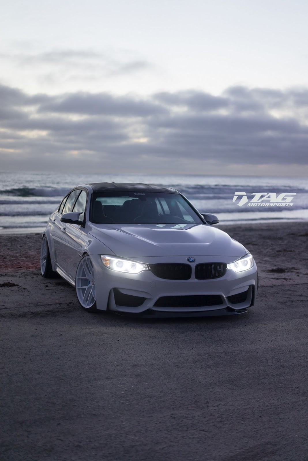 BMW M3 with GTS-like Aero Kit (6)