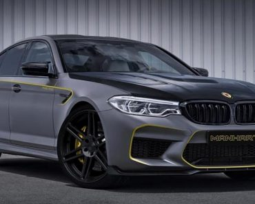 2018 BMW M5 by Manhart Teaser Image