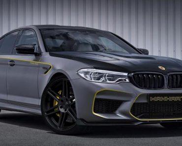2018 BMW M5 by Manhart Teaser Image