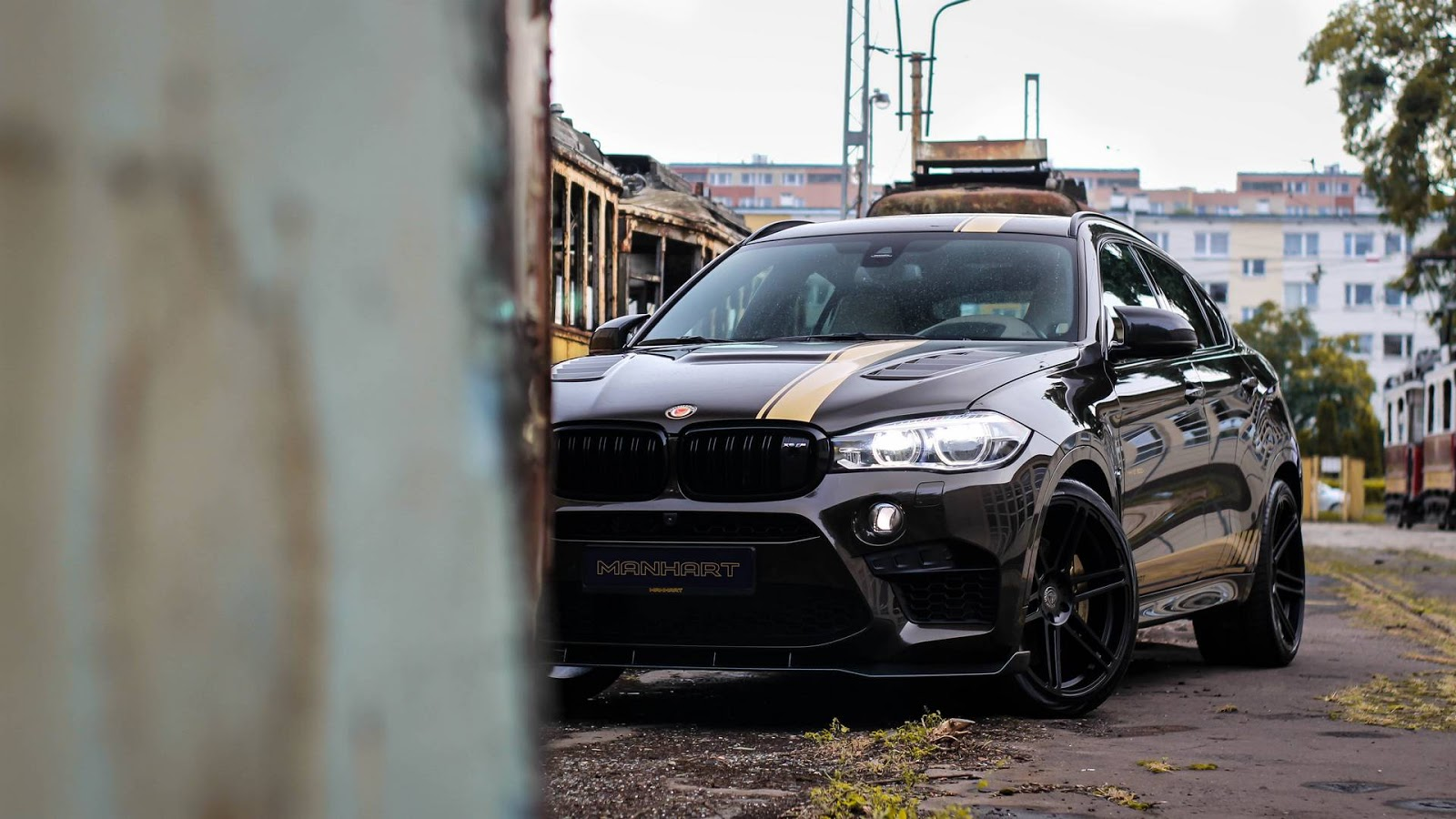Bmw Mhx6 800 By Manhart Sounds Really Furious And Mean Bmw Car Tuning