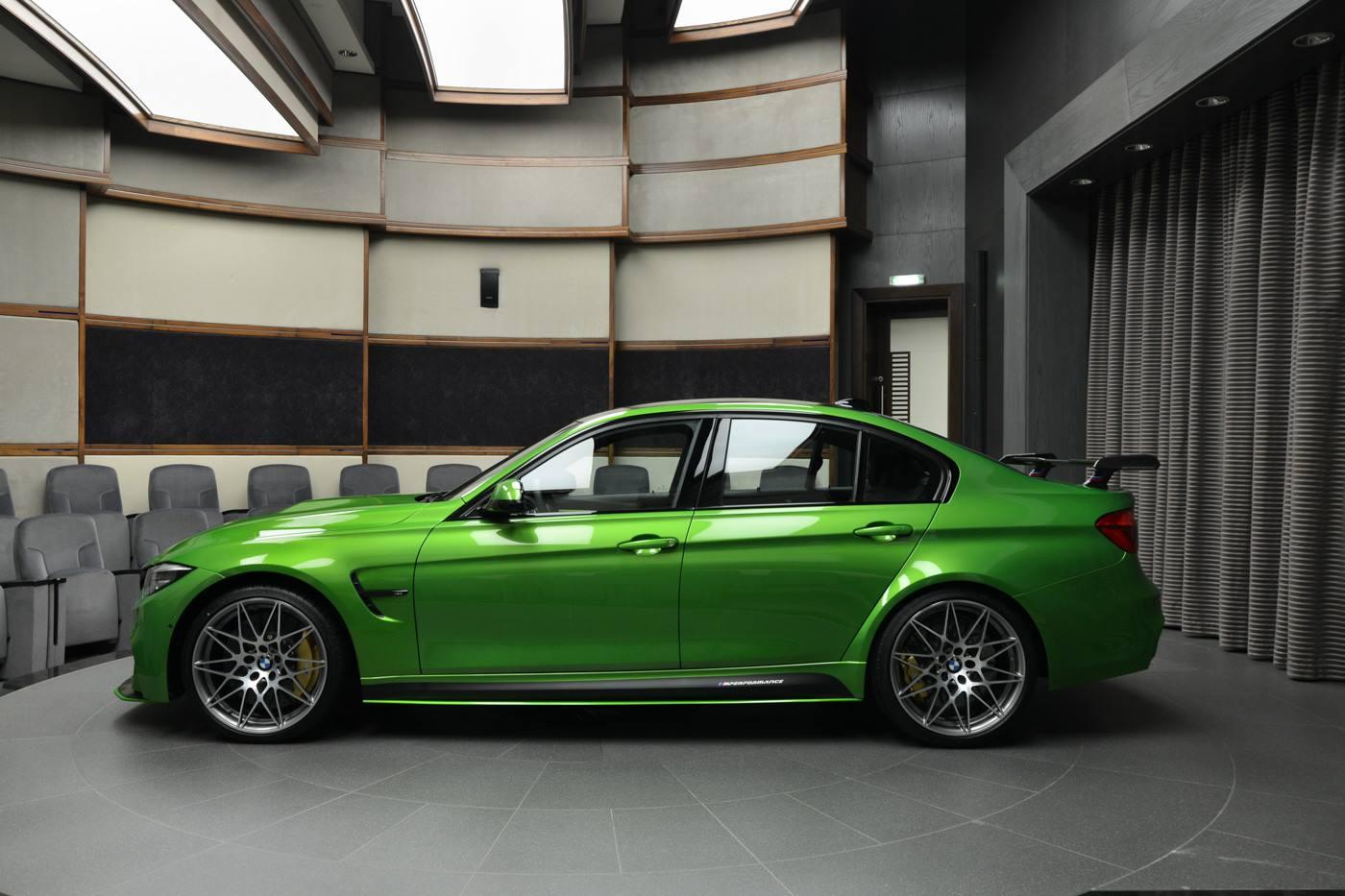 BMW Abu Dhabi Motors: F80 BMW M3 Makes Great Impression in