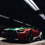 """""""Suicide Squad"""" BMW i8 by Rene Turrek"""