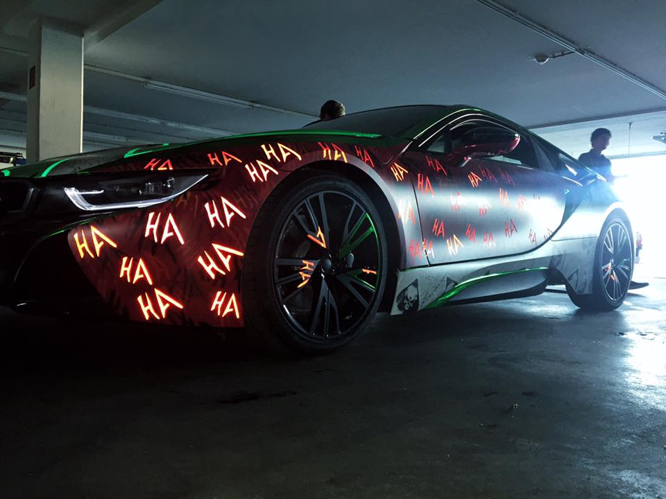 """Suicide Squad"" BMW i8 by Rene Turrek"
