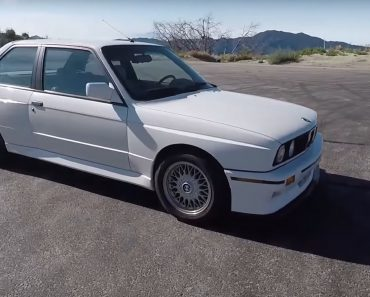 1988 E30 BMW M3 (1)