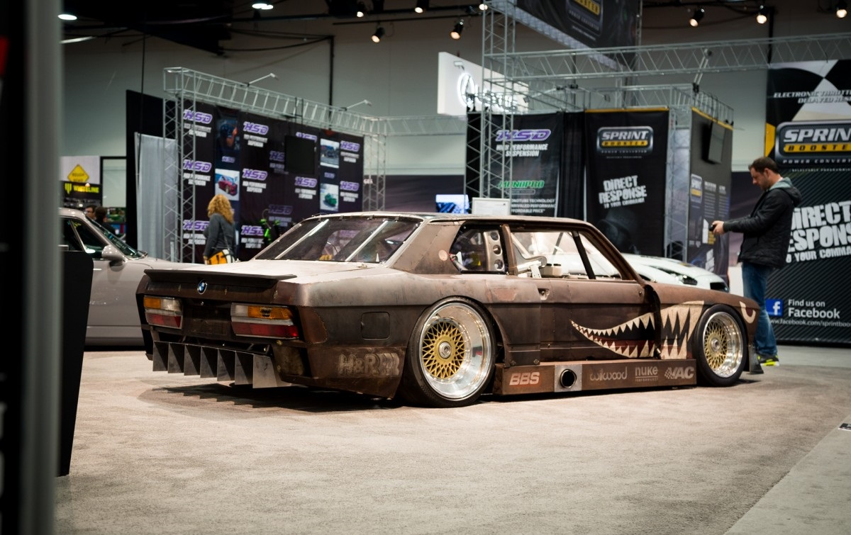 Bmw 5 Series E28 Rusty Slammington Bmw Car Tuning
