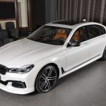 BMW 7-Series 740Le M Sport in Abu Dhabi (1)