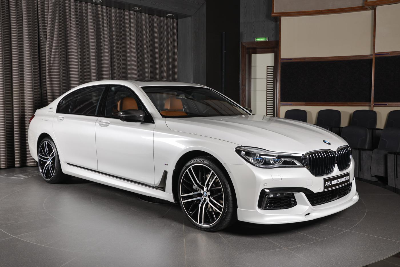 bmw 7 series 740le arrives in abu dhabi with m sport package bmw car tuning. Black Bedroom Furniture Sets. Home Design Ideas