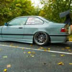 BMW 3-Series E36 with Musk Customs Wing