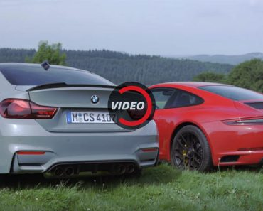 BMW M4 CS vs. Porsche 911 GTS