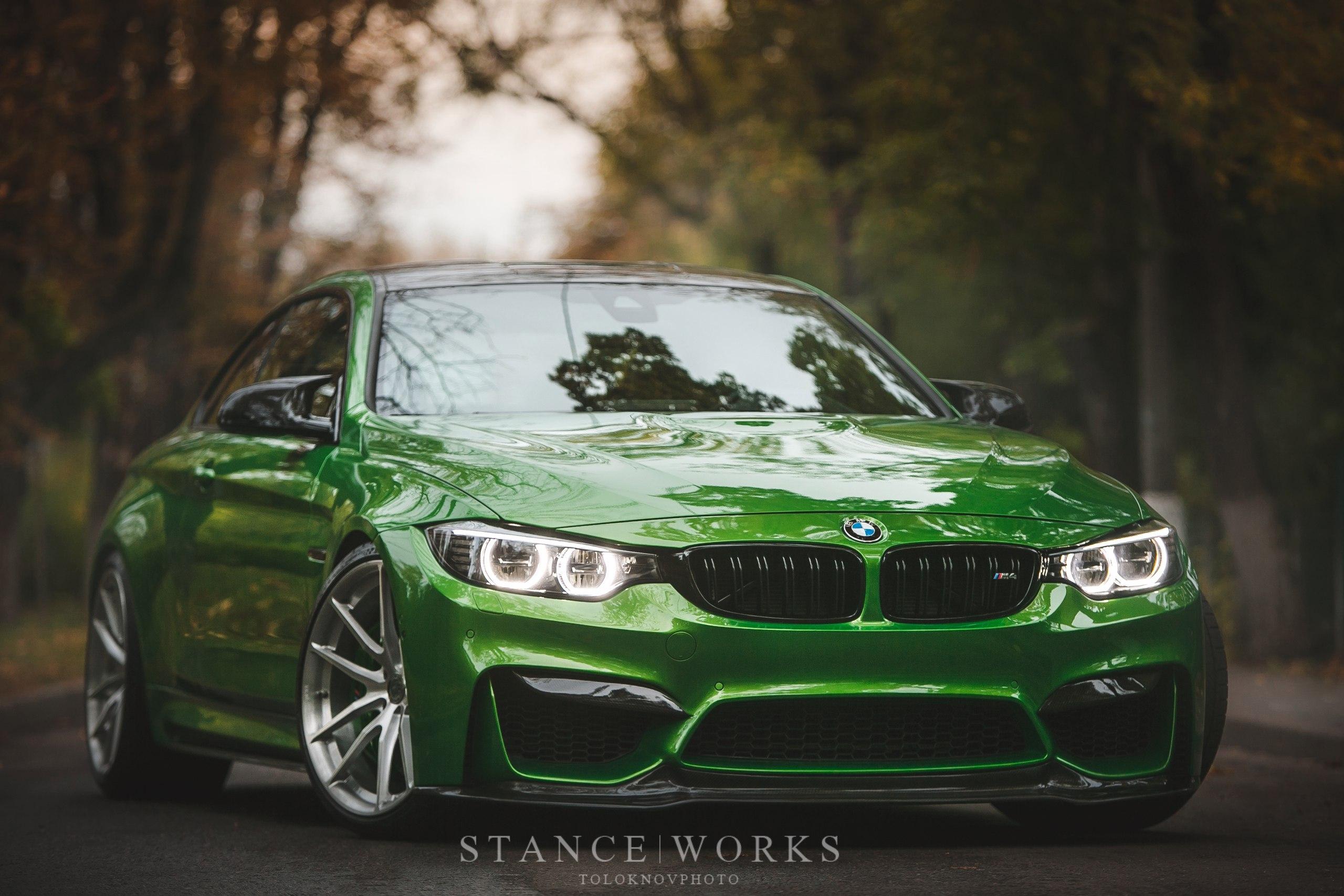 BMW M4 with HRE Wheels