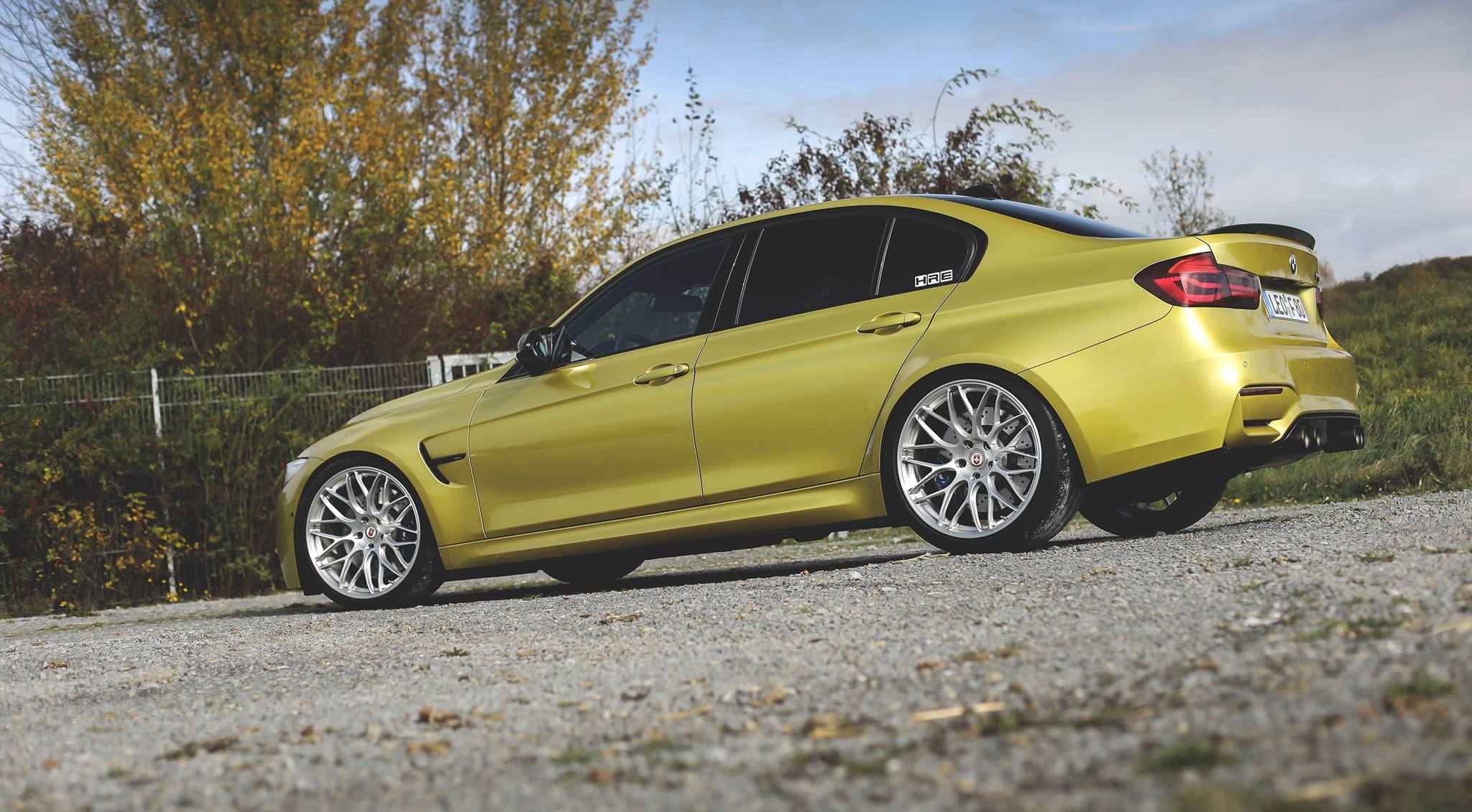 hot f80 bmw m3 in austin yellow and hre wheels pops up online bmw car tuning. Black Bedroom Furniture Sets. Home Design Ideas