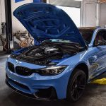 Yas Marina Blue BMW M4 by European Auto Source