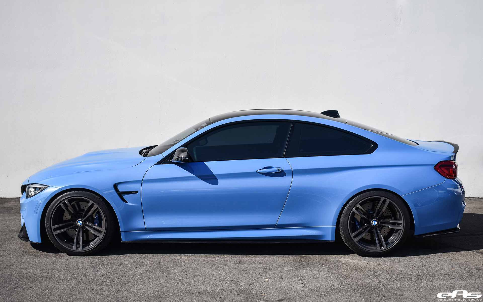Yas Marina Blue Bmw M4 By European Auto Source Bmw Car