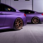 BMW M4 & M6 in Matte Purple (1)