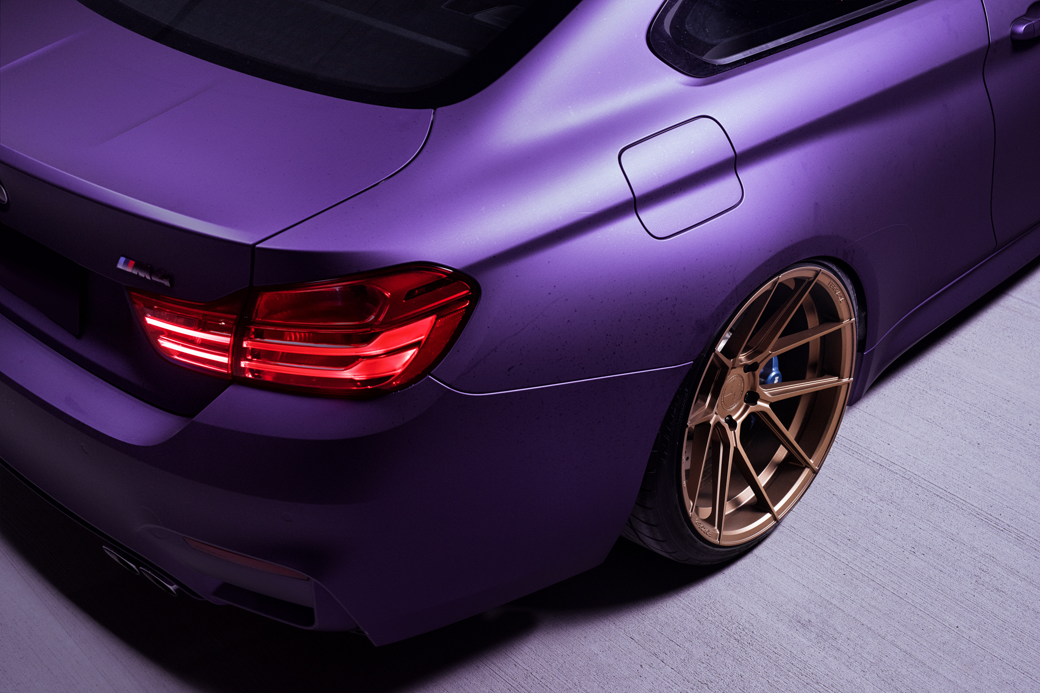 BMW M4 & M6 in Matte Purple (4)