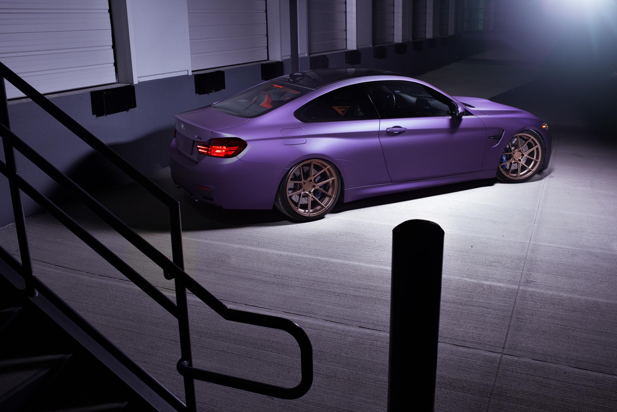 BMW M4 & M6 in Matte Purple (7)