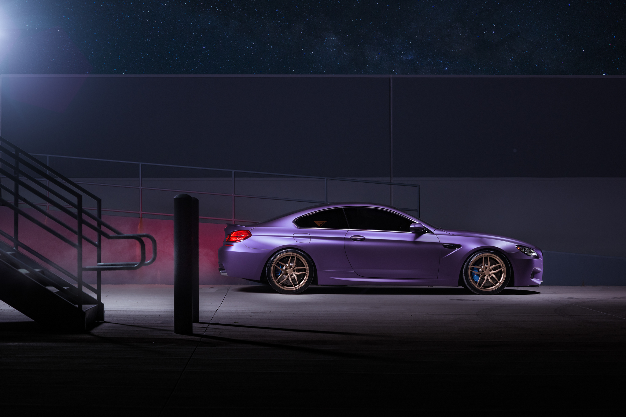 BMW M4 & M6 in Matte Purple (9)