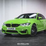 F80 BMW M3 with Verde Mantis Paintjob (1)
