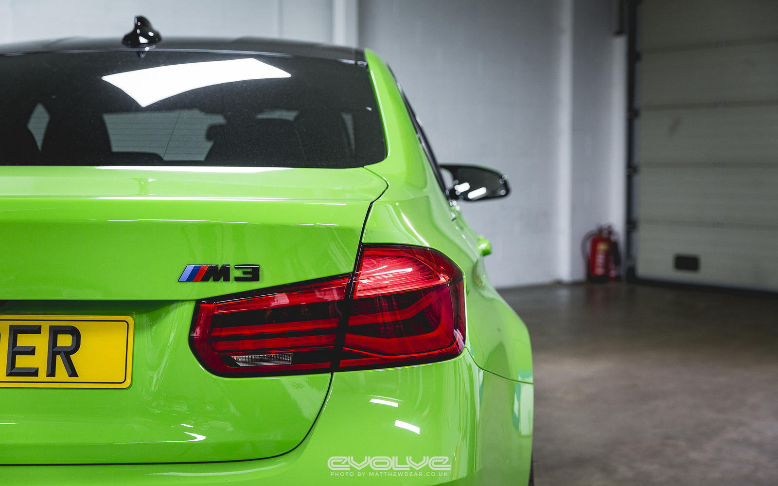 F80 BMW M3 with Verde Mantis Paintjob (11)
