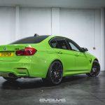 F80 BMW M3 with Verde Mantis Paintjob (3)