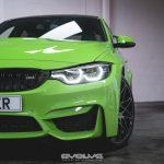 F80 BMW M3 with Verde Mantis Paintjob (8)