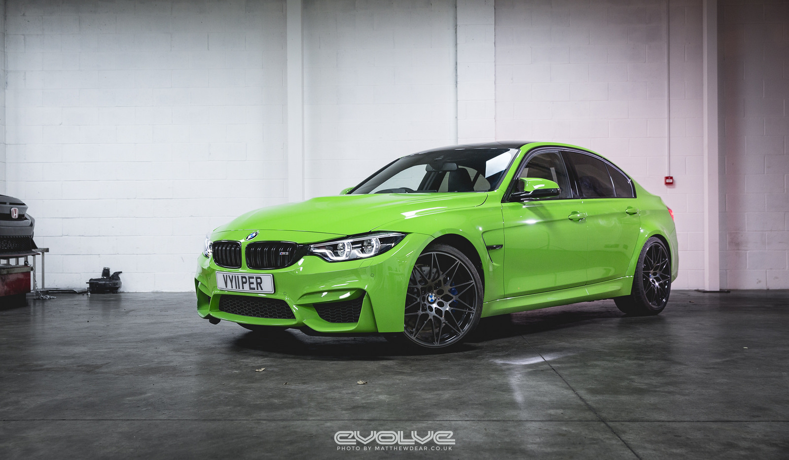 F80 BMW M3 with Verde Mantis Paintjob (9)