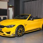 Yellow M4 Convertible by AC Schnitzer