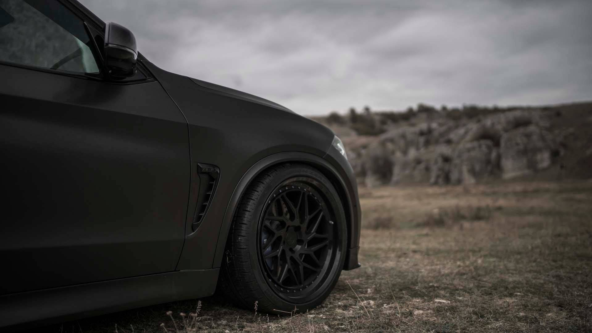 Black Bmw X5 M By Z Performance Is A Real Kicker Bmw Car