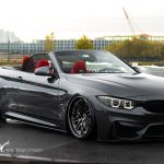 Mineral Grey BMW M4 Convertible with EDC rims
