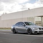 Space Gray E92 BMW M3 with Vorsteiner Wheels (3)