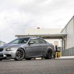 Space Gray E92 BMW M3 with Vorsteiner Wheels (4)