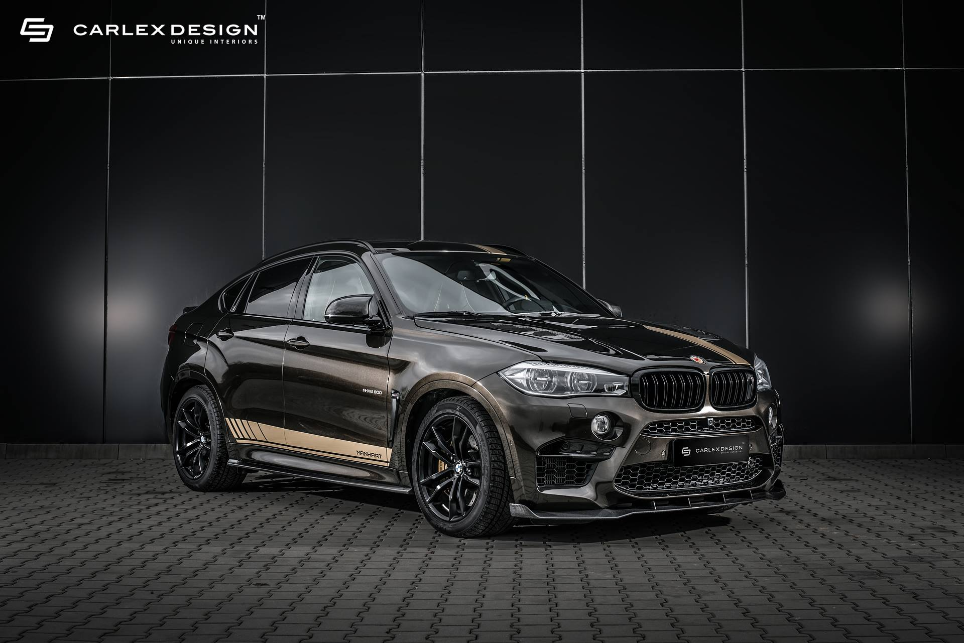 Bmw X6m By Manhart And Carlex Design Bmw Car Tuning