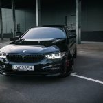 Carbon Black Metallic G30 BMW 5-Series with Vossen Wheels (18)