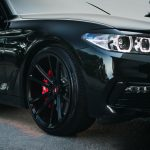 Carbon Black Metallic G30 BMW 5-Series with Vossen Wheels (8)