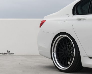 Alpine White BMW 740iL on ADV.1 Wheels (8)