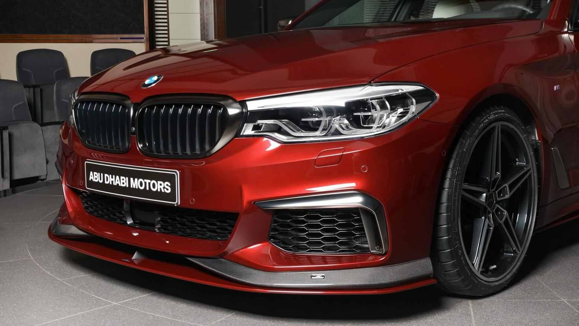 Aventurini Red BMW M550i xDrive by AC Schnitzer (9)