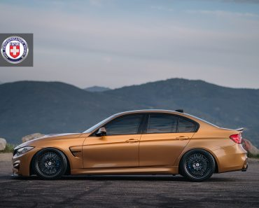 Sunburst Gold F80 BMW M3 in HRE 540 Wheels (4)
