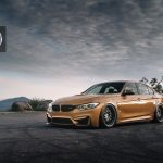 Sunburst Gold F80 BMW M3 in HRE 540 Wheels (6)