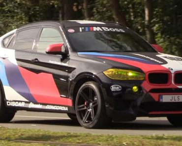 BMW X6 M with Akrapovic Exhaust