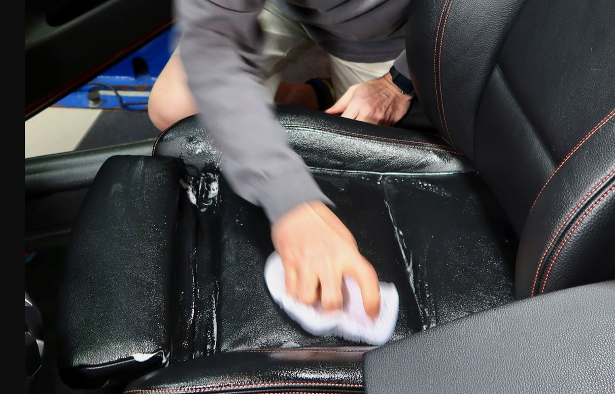 Cleaning The BMW Leather Seats