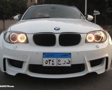 BMW 1 Series M V8