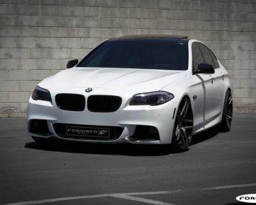 Forgiato Wheels F10 BMW 550i