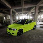 Hulk's Lime Green BMW 1M