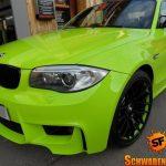 Hulk's Lime Green BMW 1M (13)