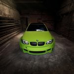 Hulk's Lime Green BMW 1M (3)